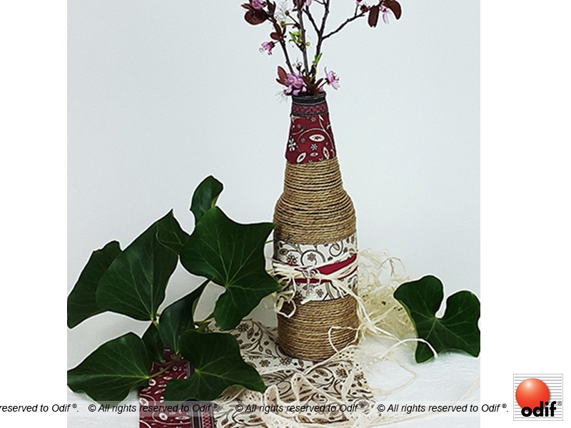 Photo : DIY - Bucolic flower pot : eco upcycling