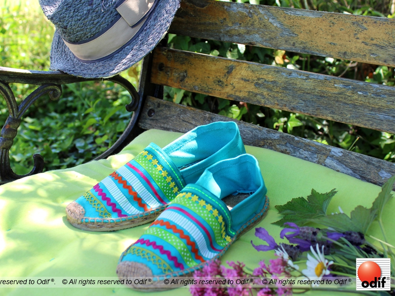 Photo : DIY - Perfect espadrilles for a Garden Party